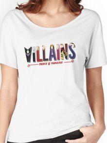 Villains Women's Relaxed Fit T-Shirt