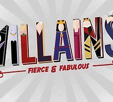 Villains by oneskillwonder