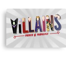 Villains Metal Print