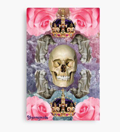 DEATH, I LOVE YOU Canvas Print
