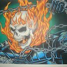 Ghostrider by eddiehollomon
