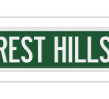 2014 Forest Hills Drive Street Sign Sticker