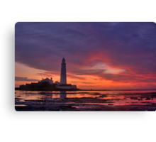 Sailors' Warning Canvas Print
