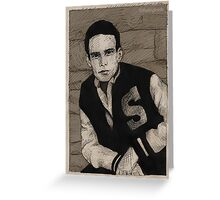 I Only Have Eyes For You - James Stanley - BtVS Greeting Card