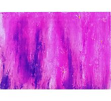 Pink and Streaked Photographic Print