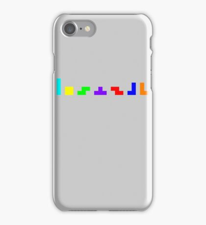 Tetrominos iPhone Case/Skin