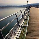 Bangor Pier, North Wales by Victoria Ashman