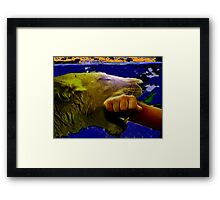 COME WITH ME! Framed Print