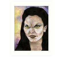Becoming, Part One - Drusilla - BtVS Art Print