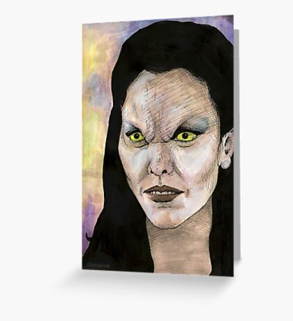 Becoming, Part One - Drusilla - BtVS Greeting Card