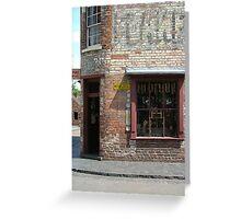 Ye Old Corner Shop Greeting Card