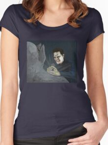 Becoming, Part Two - Angelus - BtVS Women's Fitted Scoop T-Shirt
