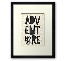 adventure seeker Framed Print
