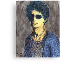 Lou Reed Portrait Canvas Print
