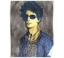 Lou Reed Portrait Poster