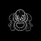 Infinity Skull - White by Alexander Bricoli