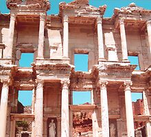 Ephesus Library of Celsus by Marylamb