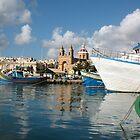 Malta Landscapes Marsaxlokk by DiveDJ
