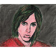 Iggy Pop Portrait Photographic Print