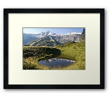 Pond with a View Framed Print