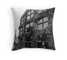 Musee de quai Throw Pillow