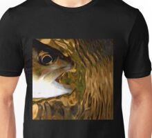 Ripple Brown Unisex T-Shirt
