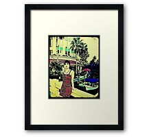 Miami Vice (GTA Style) Framed Print