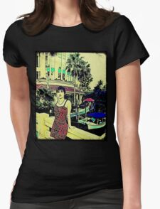 Miami Vice (GTA Style) Womens Fitted T-Shirt