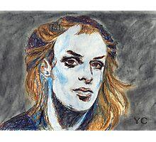 Brian Eno Portrait Photographic Print