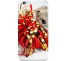 Diglett Wrapping Presents iPhone Case/Skin