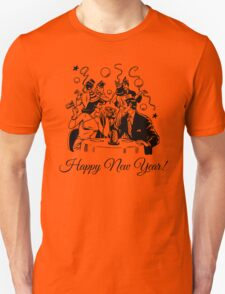Happy New Year Couple of some bygone age T-Shirt