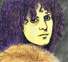 Marc Bolan Portrait by Brooke Donlan