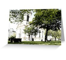 St Philip's Cathedral, Birmingham Greeting Card