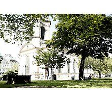 St Philip's Cathedral, Birmingham Photographic Print