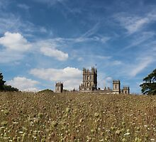 Highclere Castle a.k.a. Downton Abbey by corrado