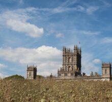 Highclere Castle a.k.a. Downton Abbey Sticker