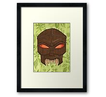 Dead Man's Party - The Ovu Mobani Mask - BtVS Framed Print