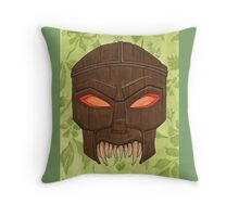 Dead Man's Party - The Ovu Mobani Mask - BtVS Throw Pillow