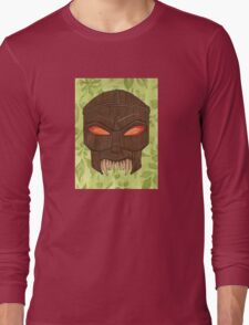 Dead Man's Party - The Ovu Mobani Mask - BtVS Long Sleeve T-Shirt