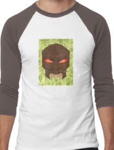 Dead Man's Party - The Ovu Mobani Mask - BtVS Men's Baseball ¾ T-Shirt