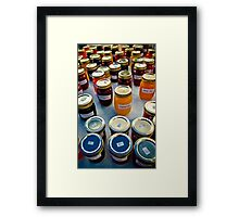 Traffic Jam Framed Print