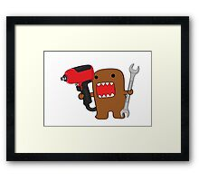 Mr. Mechanic Domo Framed Print