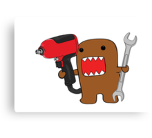 Mr. Mechanic Domo Canvas Print