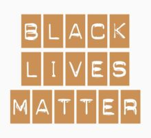 Black Lives Matter (Blocks Over Light Color) by BroadcastMedia