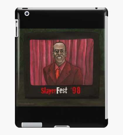 Homecoming - Mr. Trick - BtVS iPad Case/Skin