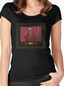 Homecoming - Mr. Trick - BtVS Women's Fitted Scoop T-Shirt