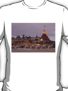 end of the beach day - del coronado hotel T-Shirt