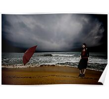 Red Umbrella IV Poster