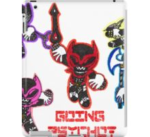Going Psycho! Puff Shirt iPad Case/Skin