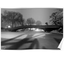 Central Park in the Snow 13 Poster